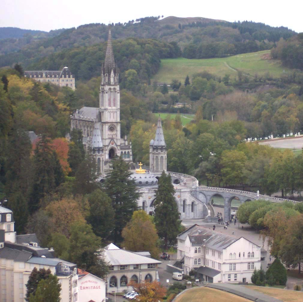Lourdes (from a distance)