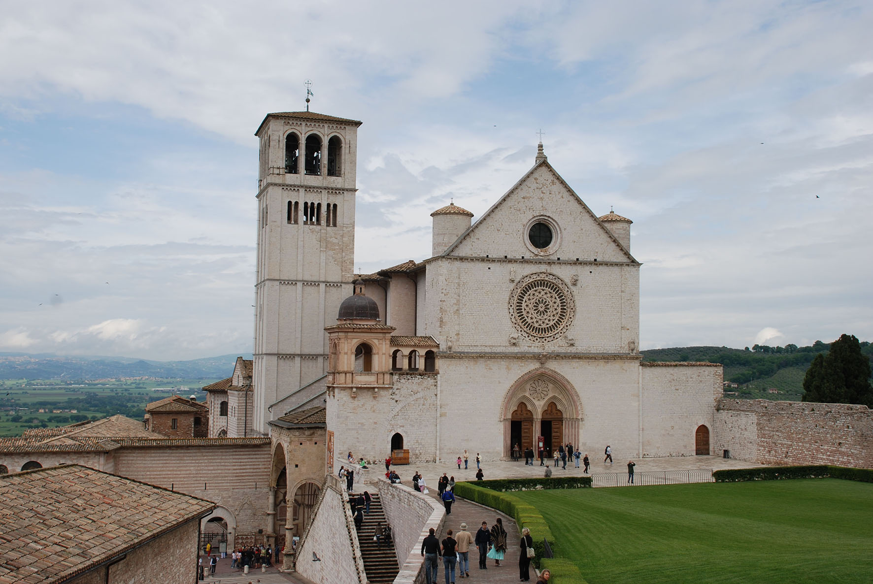 Basilica of St  . Francis in Assisi